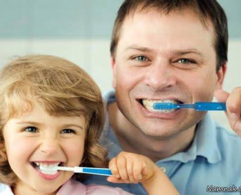 حساسیت دندانها و مسواک زدن